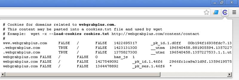 Chrome | WebGrab+Plus
